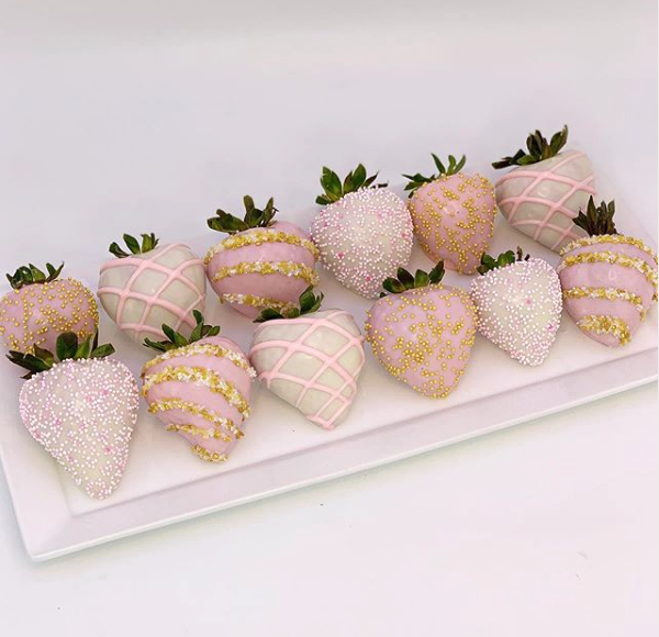 Pin On Chocolate Covered Strawberries By Sadiebabysweets Com