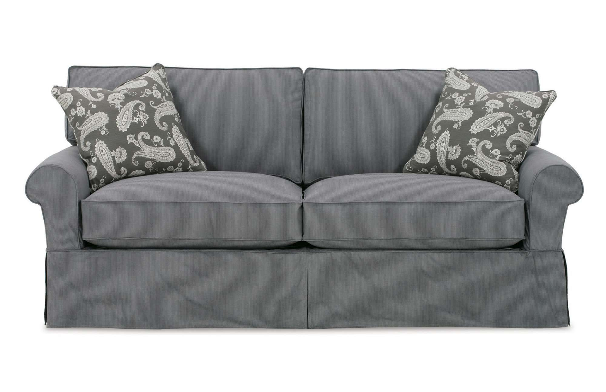 The Nantucket 2-Seat Slipcover Queen Sleeper Is A Modern