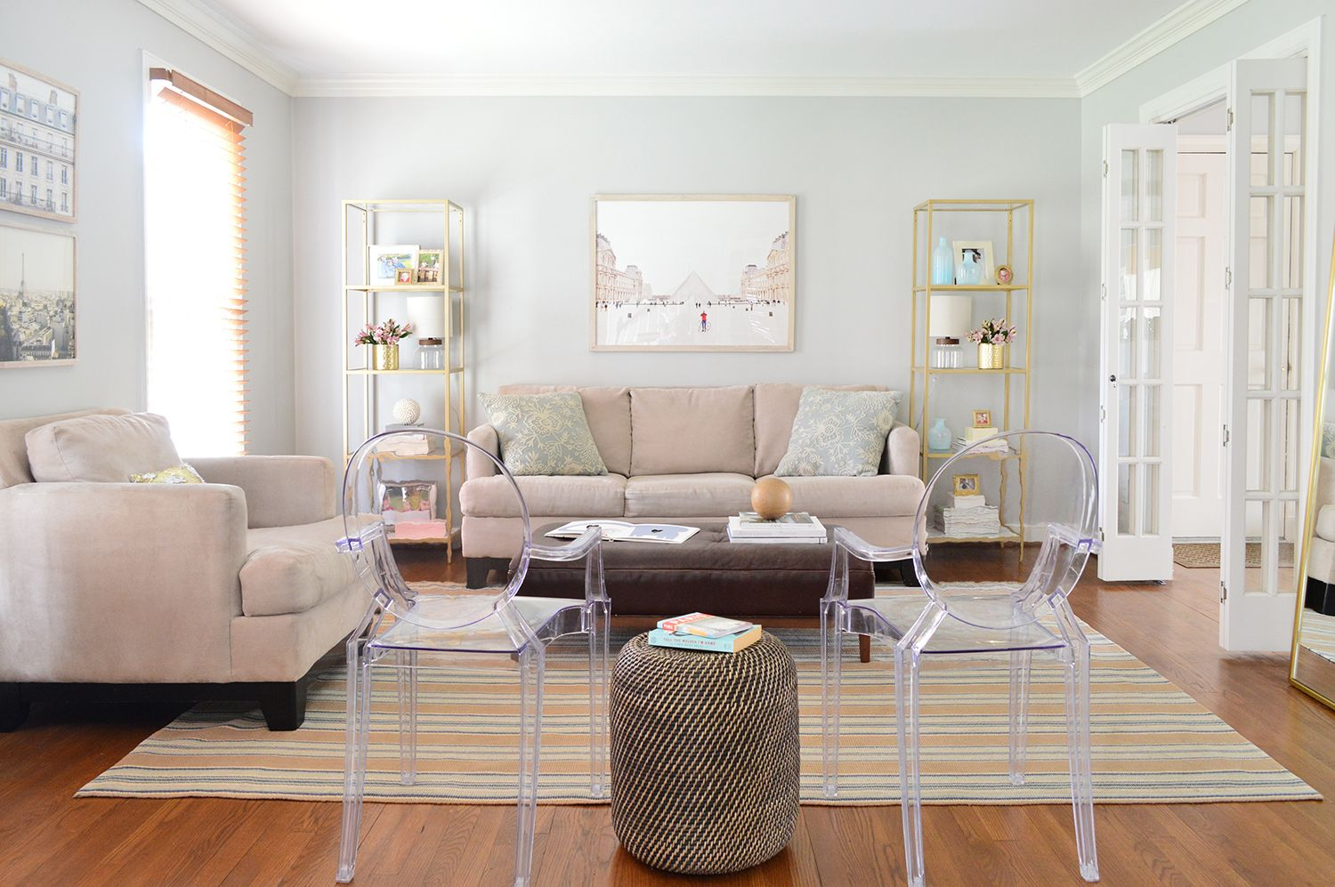 Easy Makeover Taking A Neutral Living Room From Plain To Polished Young House Love Neutral Living Room Living Room Makeover Living Room Decor