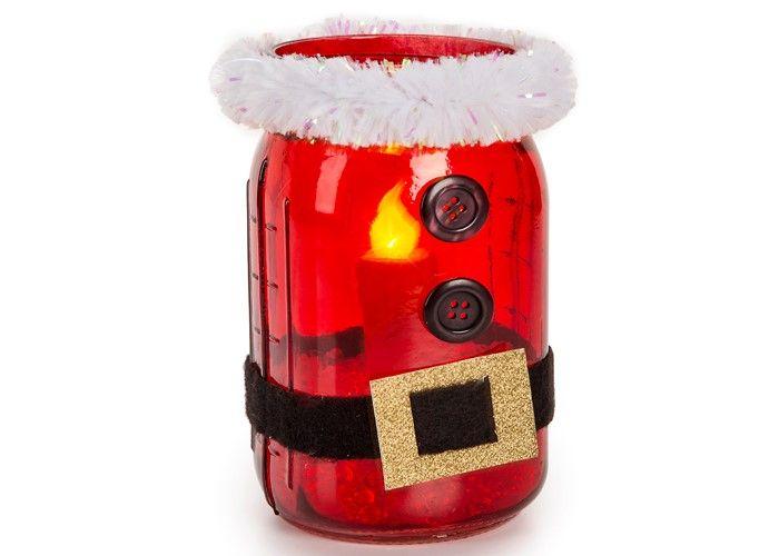 Santa Mason Jar Craft