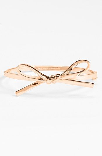 Kate Spade New York Skinny Mini Bow Bangle Available At Nordstrom