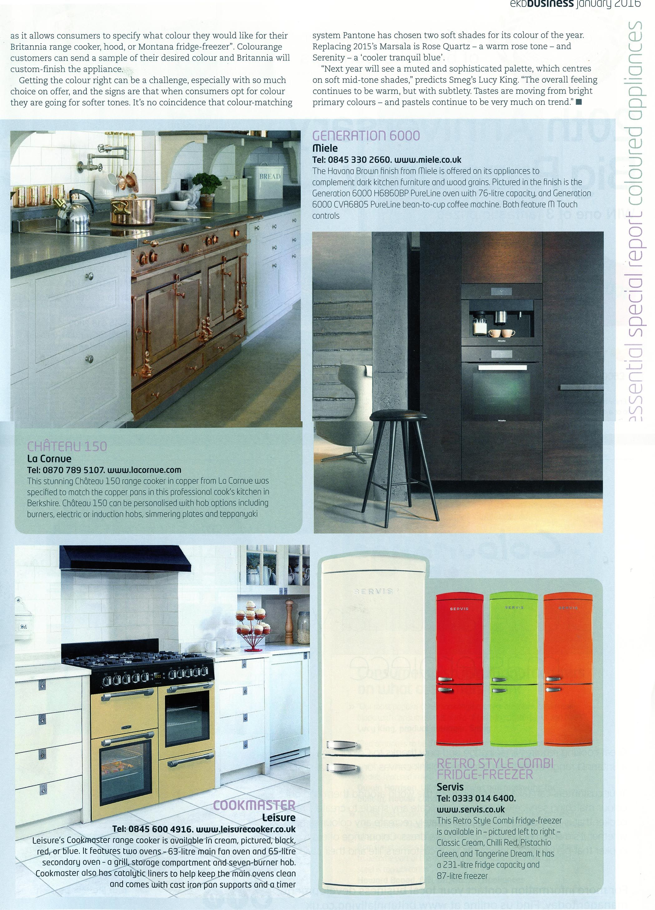 The stunning Chateau 150 range cooker in copper from La Cornue. http ...