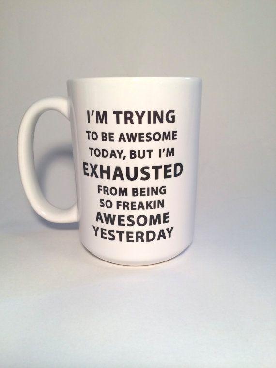 Custom Coffee Mug, Inspirational Her, Mugs With Sayings, Design Your Own,  Mug Rack, Personalized Gift, Funny Mug