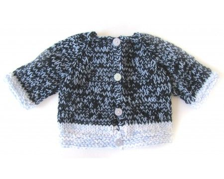 KSS Blue Colored Tweed Sweater (2 Years)