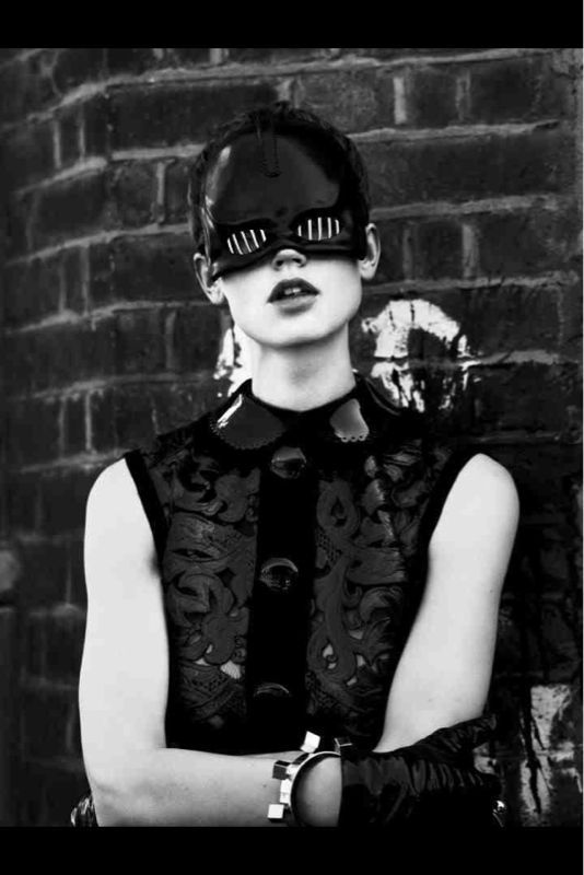 Void of course    Ft in INTERVIEW magazine    Shot by Mert & Marcus    Styled by Karl Templer