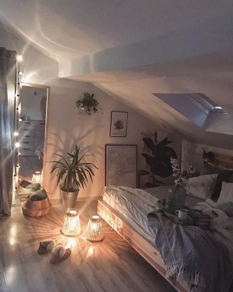 30 Small Yet Amazingly Cozy Master Bedroom Retreats: 89 Minimalis Bedroom Small Design Space, Light, Furniture