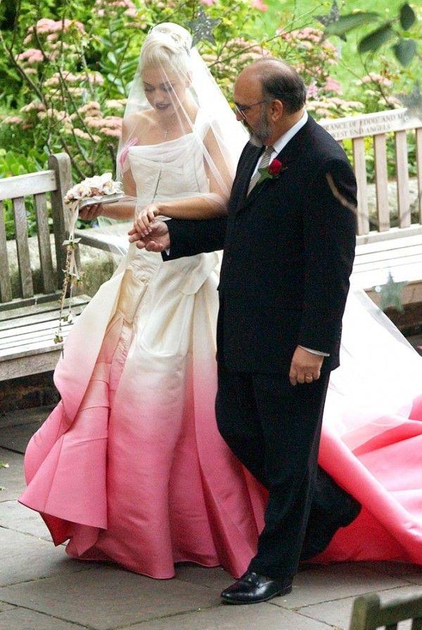 Trending Now Ombre Wedding Gowns Celebrity Wedding Dresses