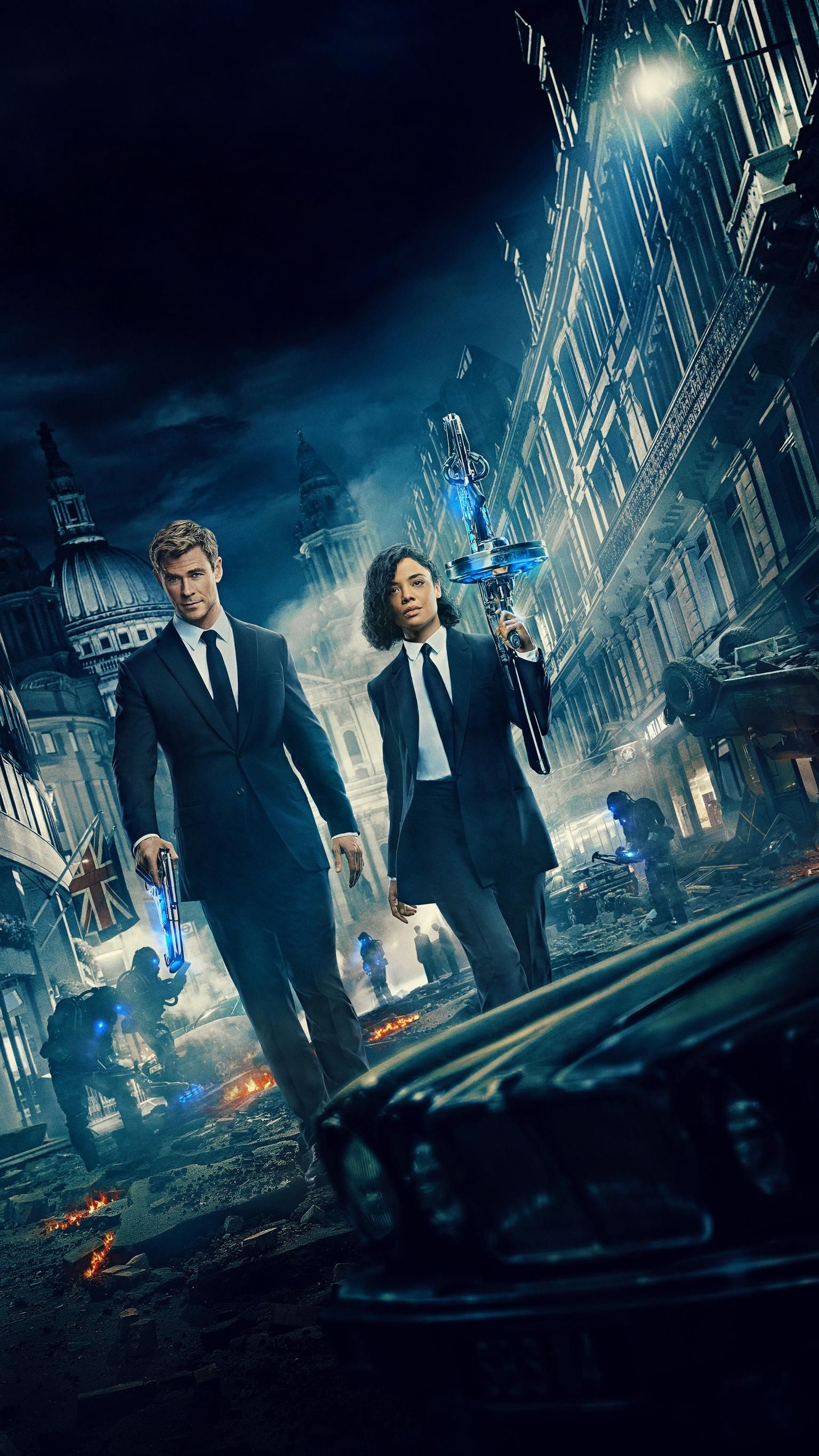 Pin On Men In Black International 2019 Wallpapers For Phone