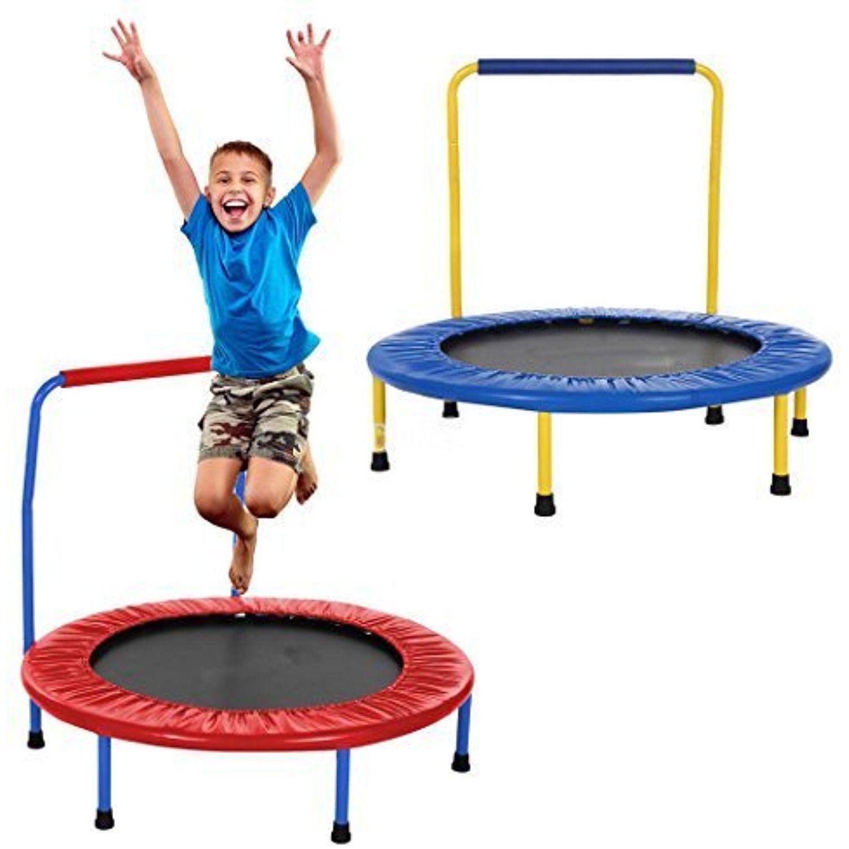 Fashine kids 36 inch diameter rebounder trampoline with