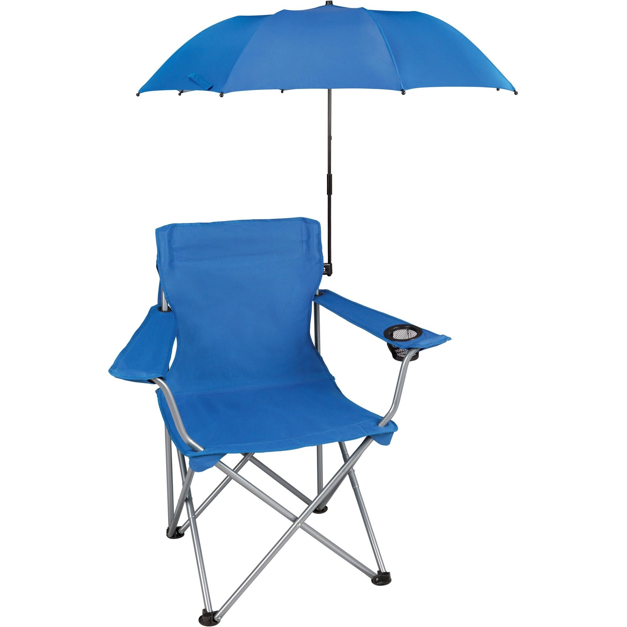 folding chair with umbrella adjustable chairs wheels clamp pinterest
