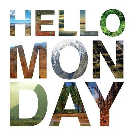 Buen inicio de Semana Para Todos!!!!