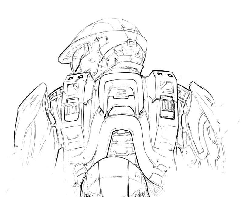 halo coloring pages | Home > Halo 4 > Halo 4 Trooper Actions | Halo ...