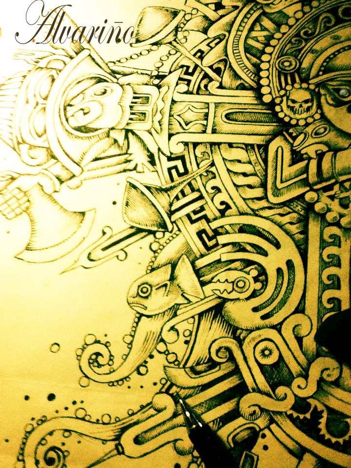 Disenos Tribales Innovadores: Pin De Marco Alvariño Castillo En ARTE PERU Dibujos