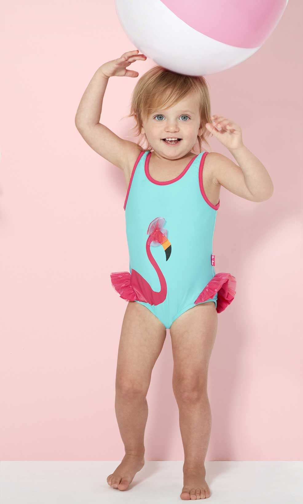 Infant baby girl swimsuit-9343