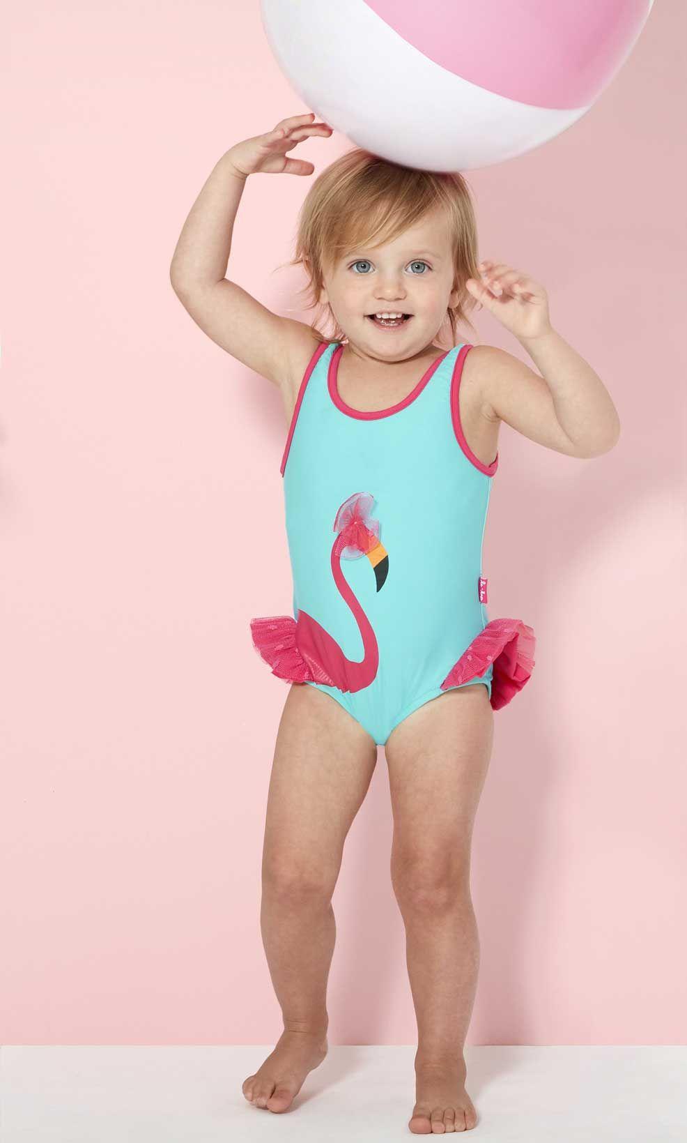Baby girl spf swimwear-9144