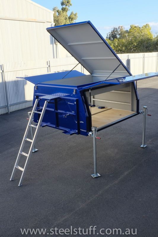 Dsf0395 Offroad Adventure Vehicles Truck Bed Camper