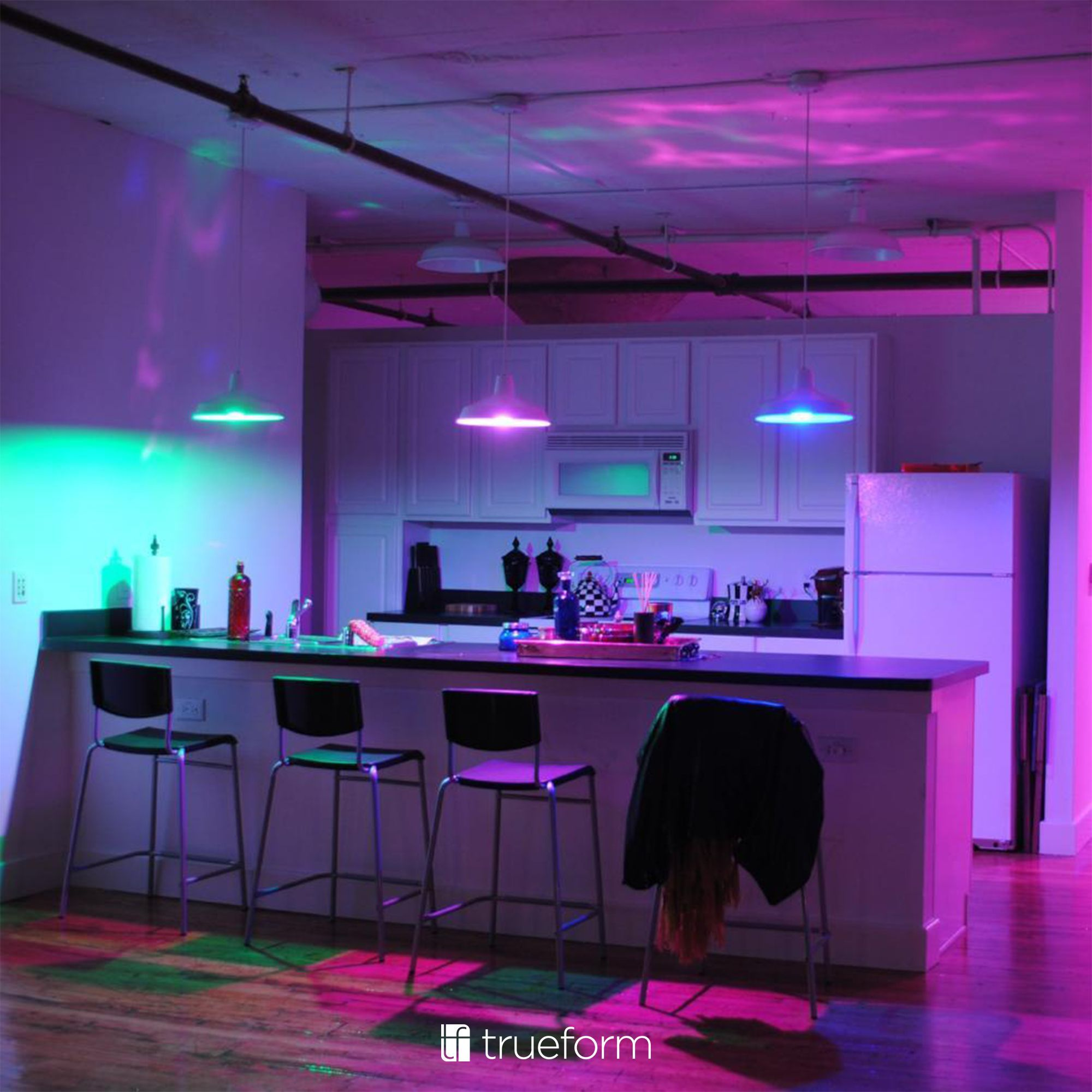 Amazing Built In Lighting Programs To Experience The Perfect Light For Every Occasion Transform Any Room By Choosing The Neon Room Smart Lighting Dream Rooms