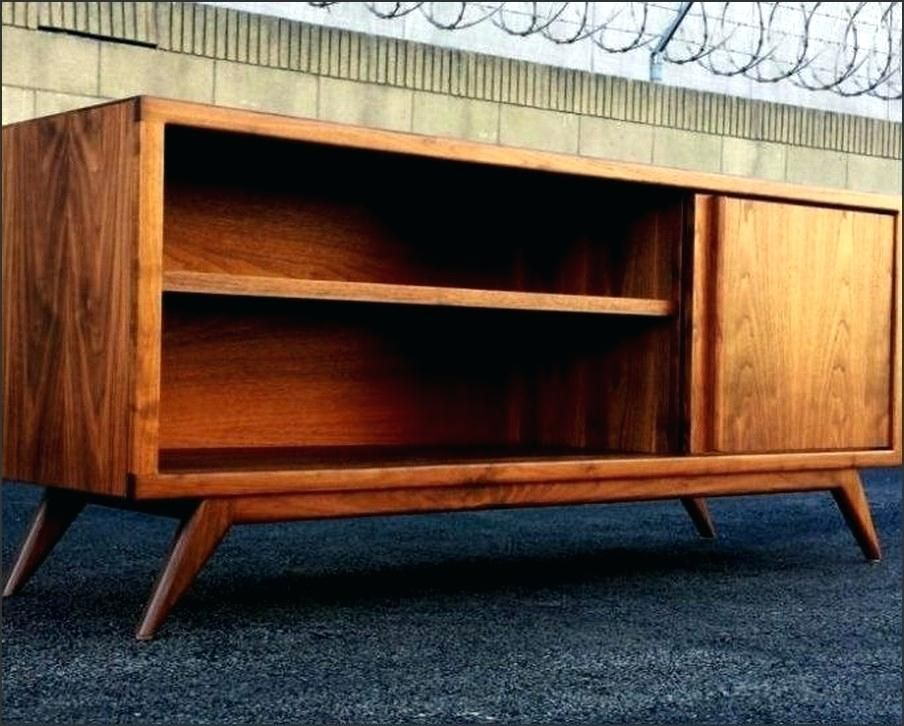 Diy Modern Tv Stand Natural Wood Mid Century Modern Stand Diy