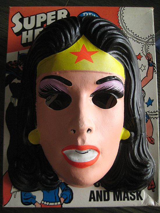 Wonder Woman Costume And Mask, Ben Cooper, Super Hero -8020