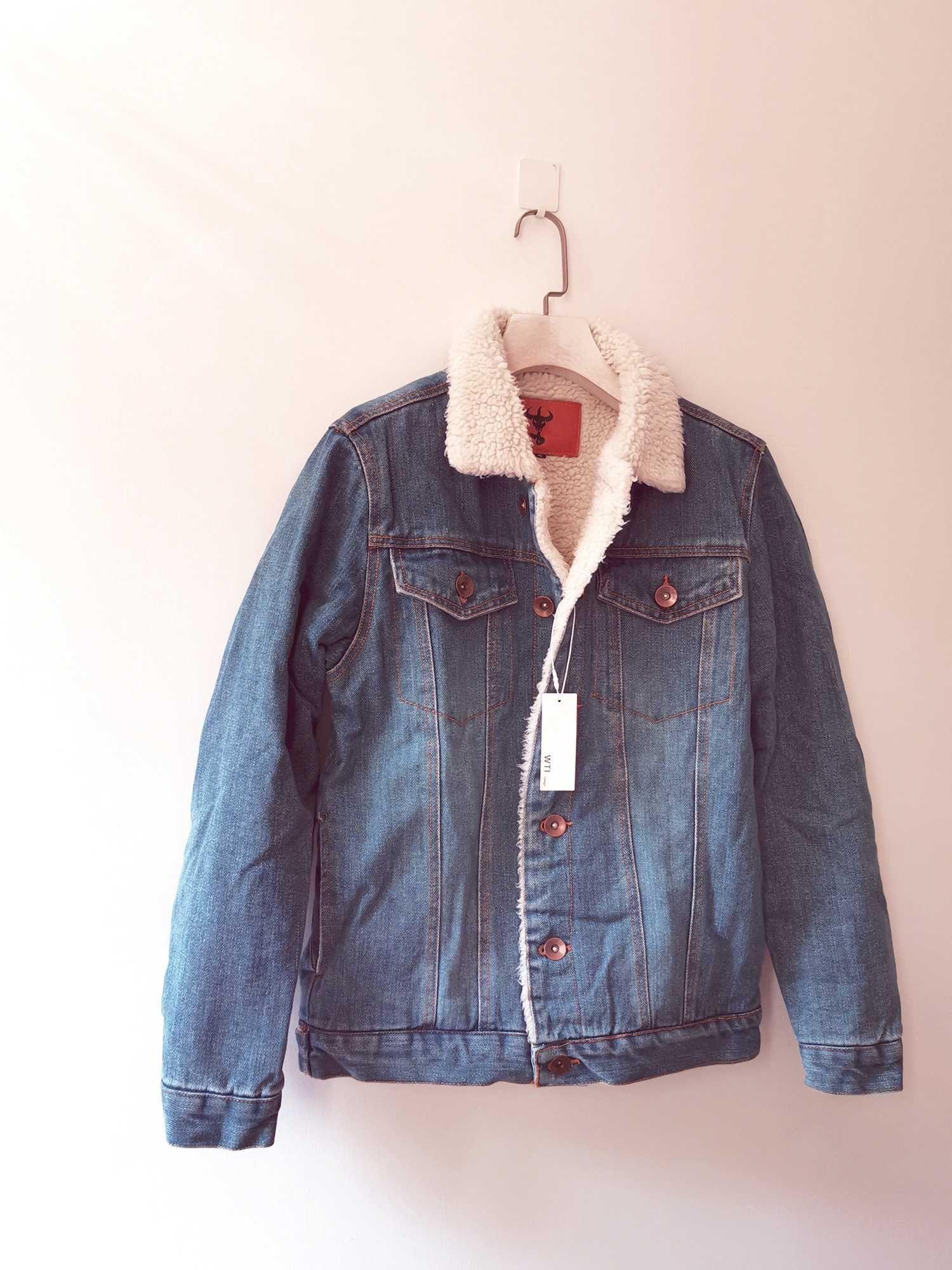 Classic Denim Sherpa Jacket W T I Design Denim Jacket With Fur Lined Denim Jacket Denim Jacket Women [ 2000 x 1500 Pixel ]