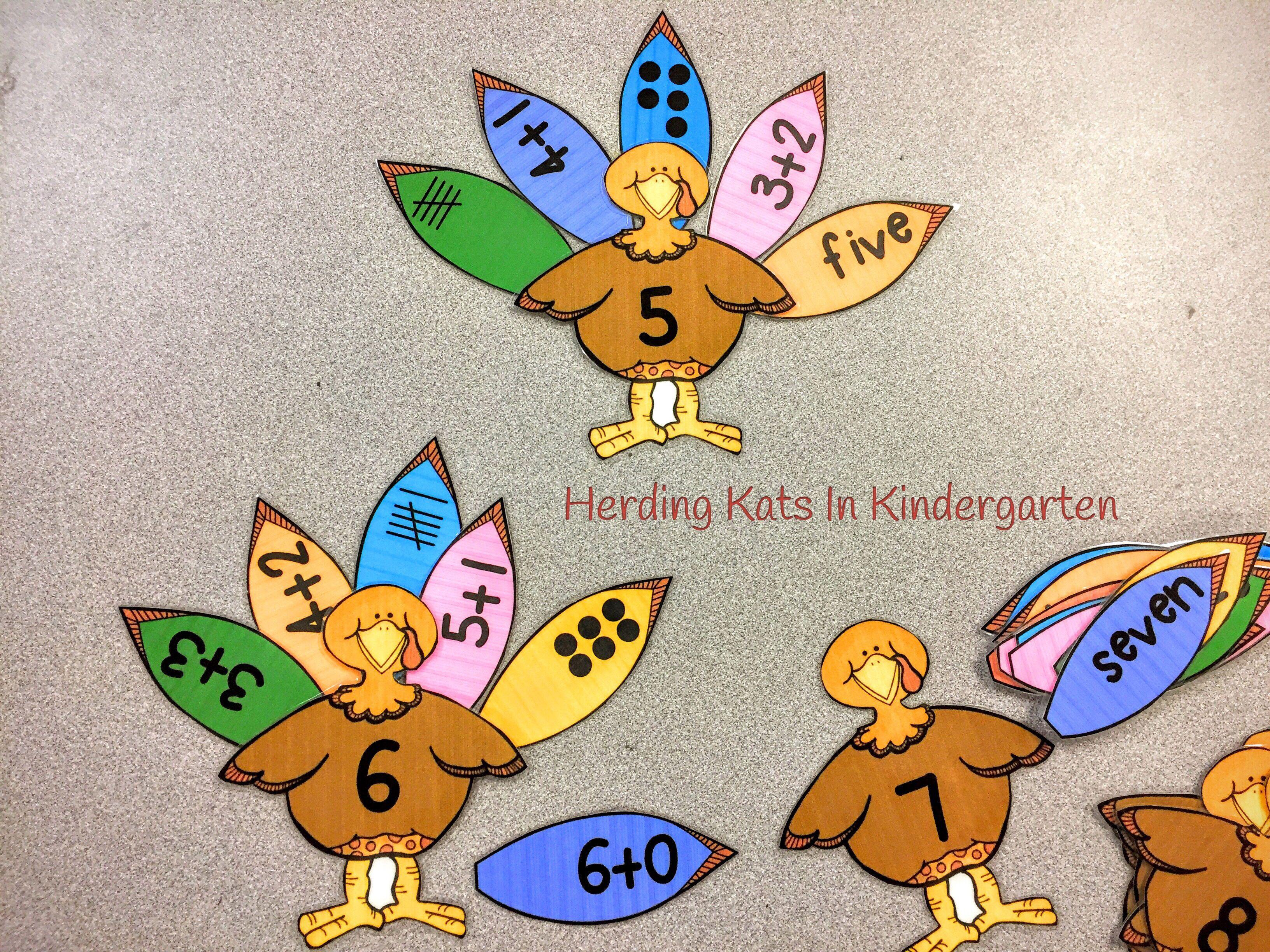 Thanksgiving Math And Language Arts Activities