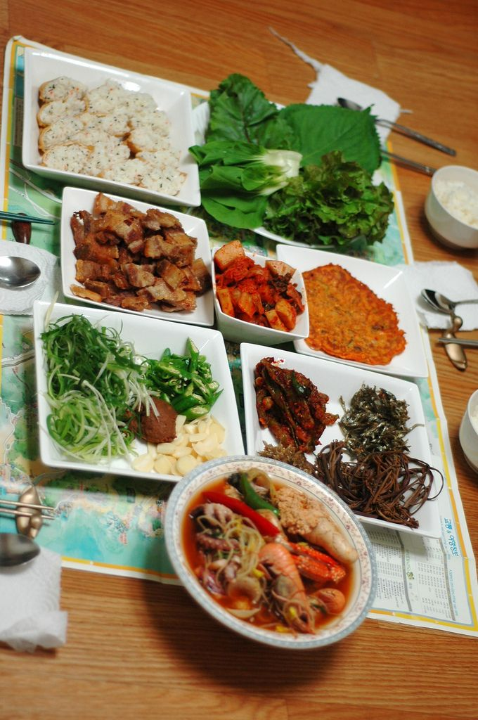Korean food \