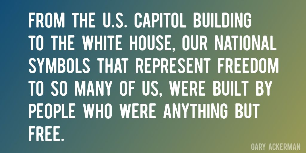 Quote By Gary Ackerman From The Us Capitol Building To The