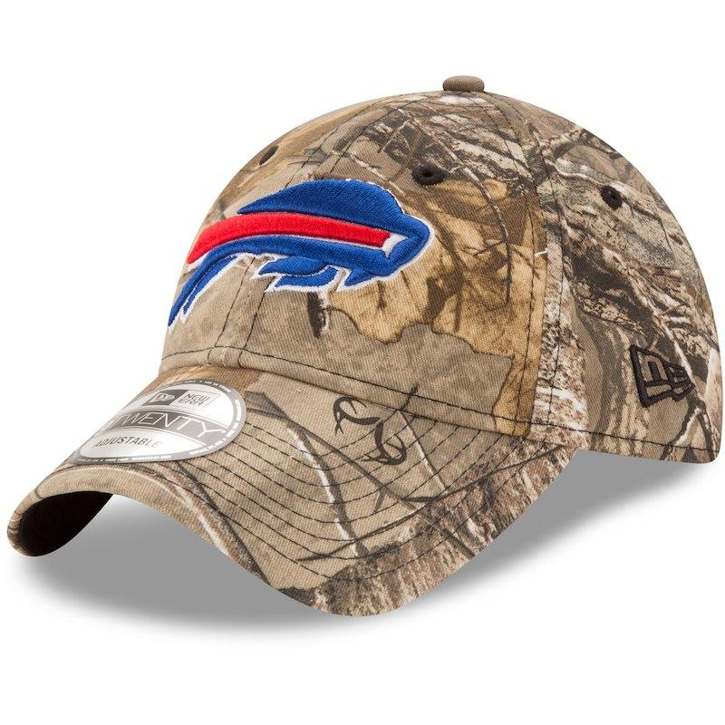 a46bd8a3f9d Buffalo Bills New Era Realtree 9TWENTY Adjustable Hat – Realtree Camo