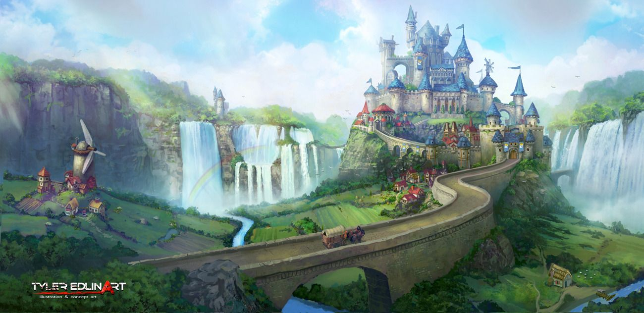 Fantasy Landscape Castle