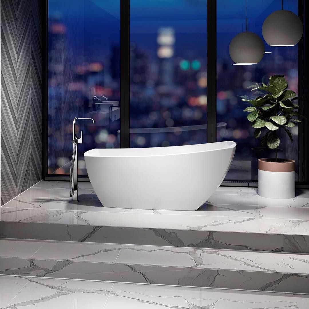 Our Stella Freestanding Bath offers a stunning yet simple way to ...