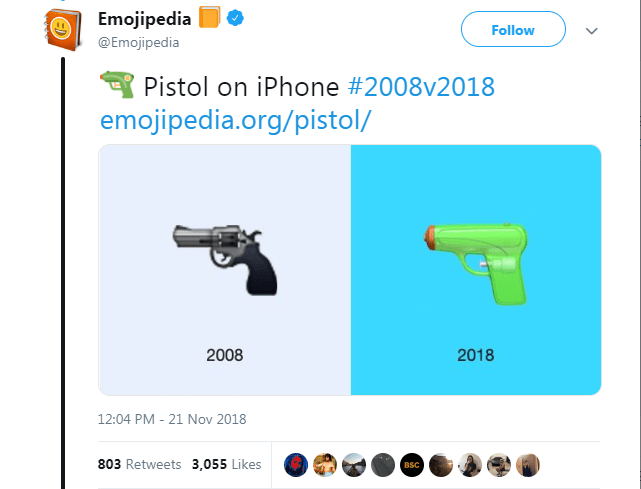 On The 10th Anniversary Of Apple S Release Of Emojis Emojipedia Shows How They Have Developed Over Time Original Emojis Simple Illustration 10 Anniversary