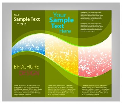 Trifold Brochure Templates  Shs Yearbook