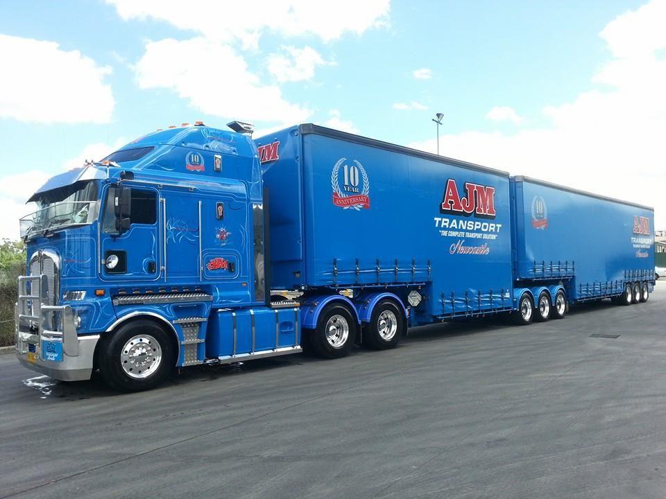 Trucking Train truck, Road train, Trucks