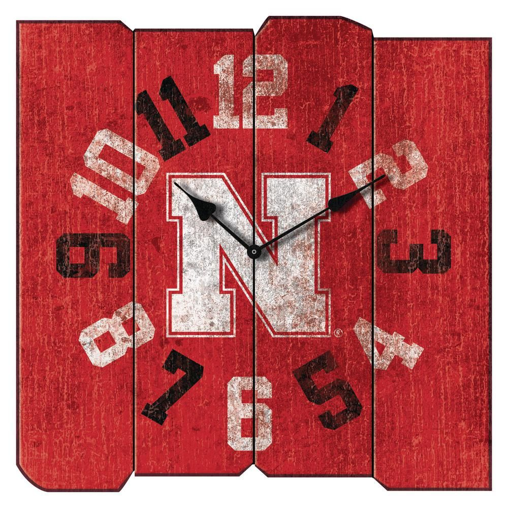 Imperial Officially Licensed NCAA Merchandise Vintage Round Clock Alabama Crimson Tide