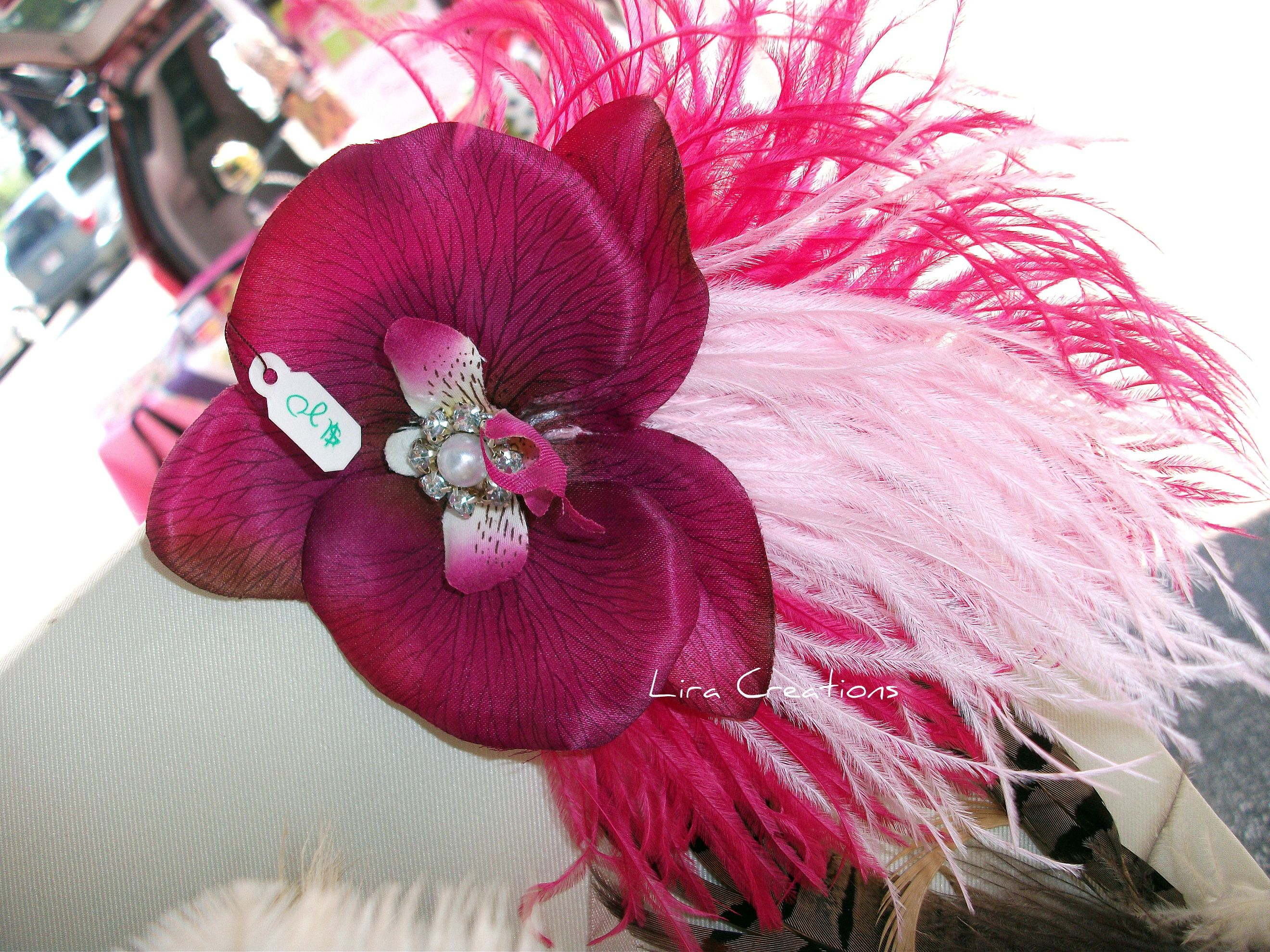 Pink Orchid, vintage