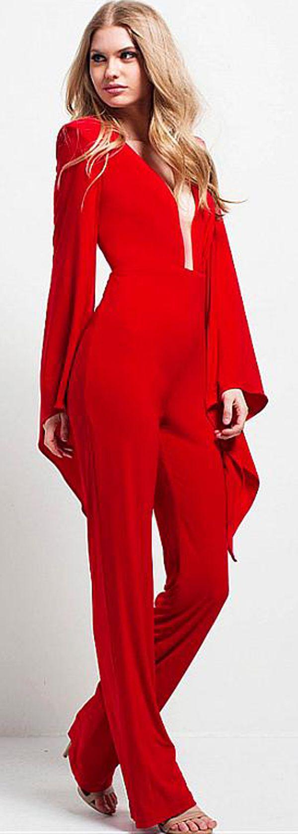 Wonderful jumpsuit spandex vneck neckline prom dresses pra vistir
