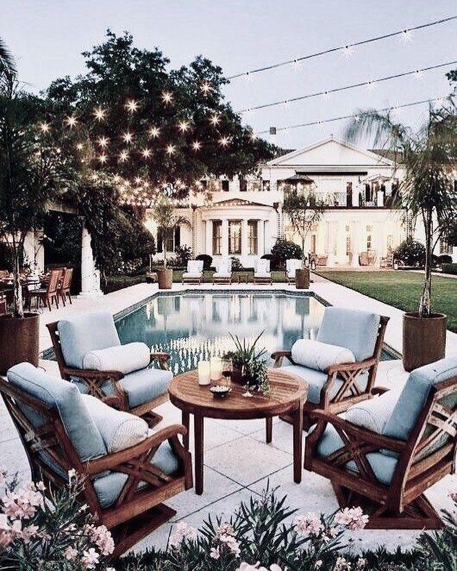 Home exterior Pool Home Decor Home Design Patio Outdoor