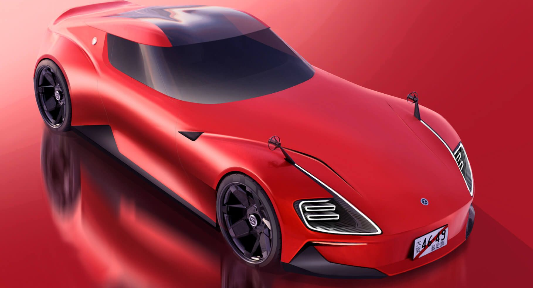 Nissan Readying New Z Sports Car Possibly Named The 400z With 240z Styling Influences Carscoops In 2020 Datsun Nissan Sports Car