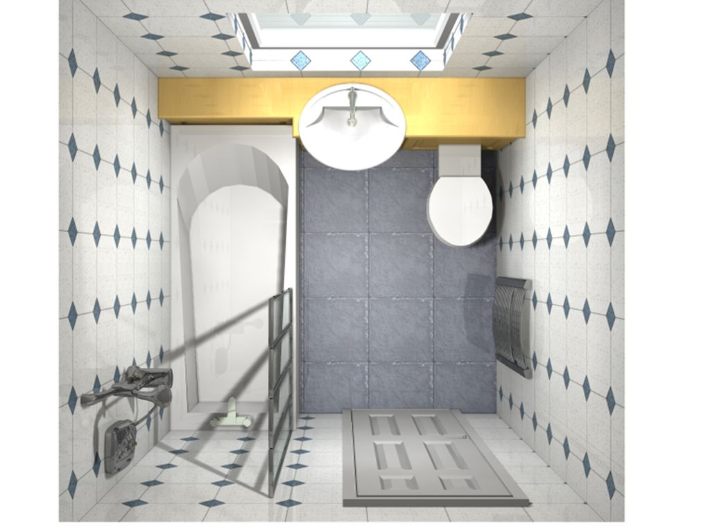 outdated bathroom plans before renovation proposal cad designs