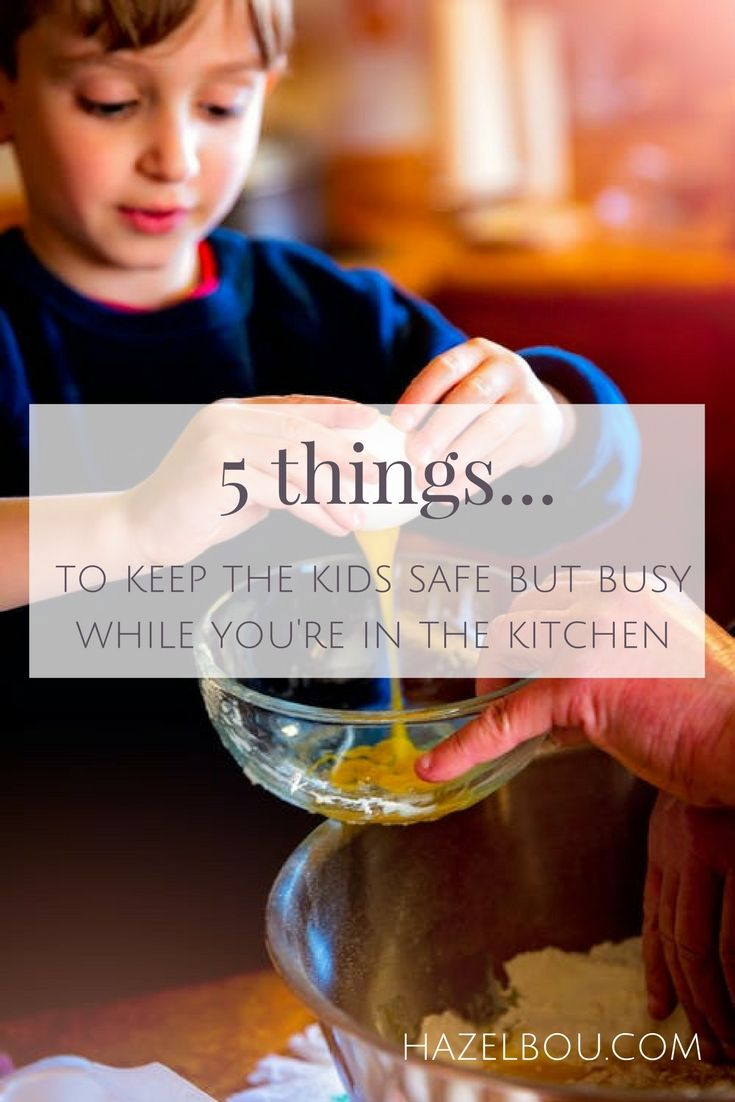So I'm making some meals for the freezer, alright maybe it's homemade truffles for the fridge...but how do I keep the kids busy in the kitchen without agreeing to turn a blind eye while they mix flour and water, inches from my clean washing. Here's 5 ideas to get you started...