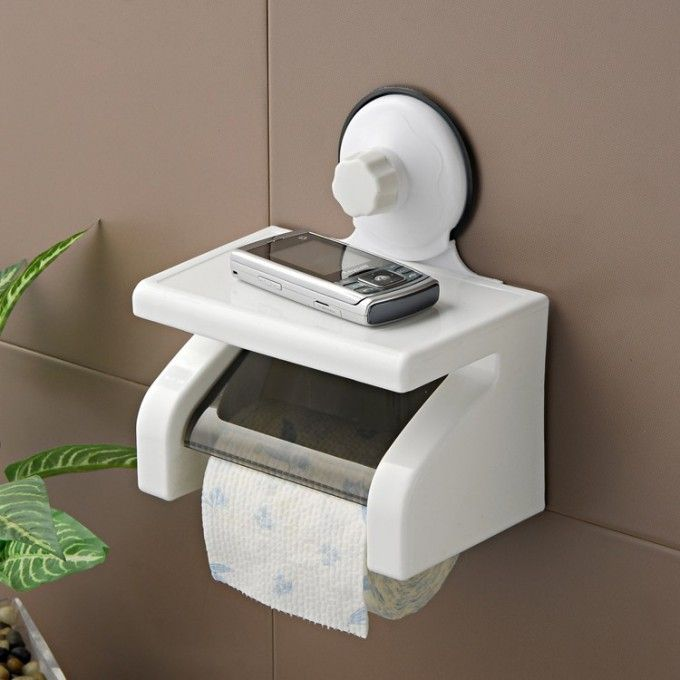 Tissue Holder With Super Suction Cup | RPOD BATHROOM AREA MODS ...
