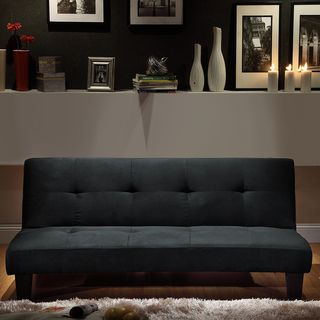 overstock   add extra sleeping space to your living room with this  fy futon sofa bed  it can quickly fold out into a bed in seconds so you can easily     overstock   add extra sleeping space to your living room with this      rh   pinterest