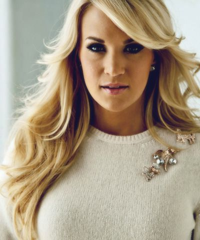 Carrie Underwood's hair can do no wrong.