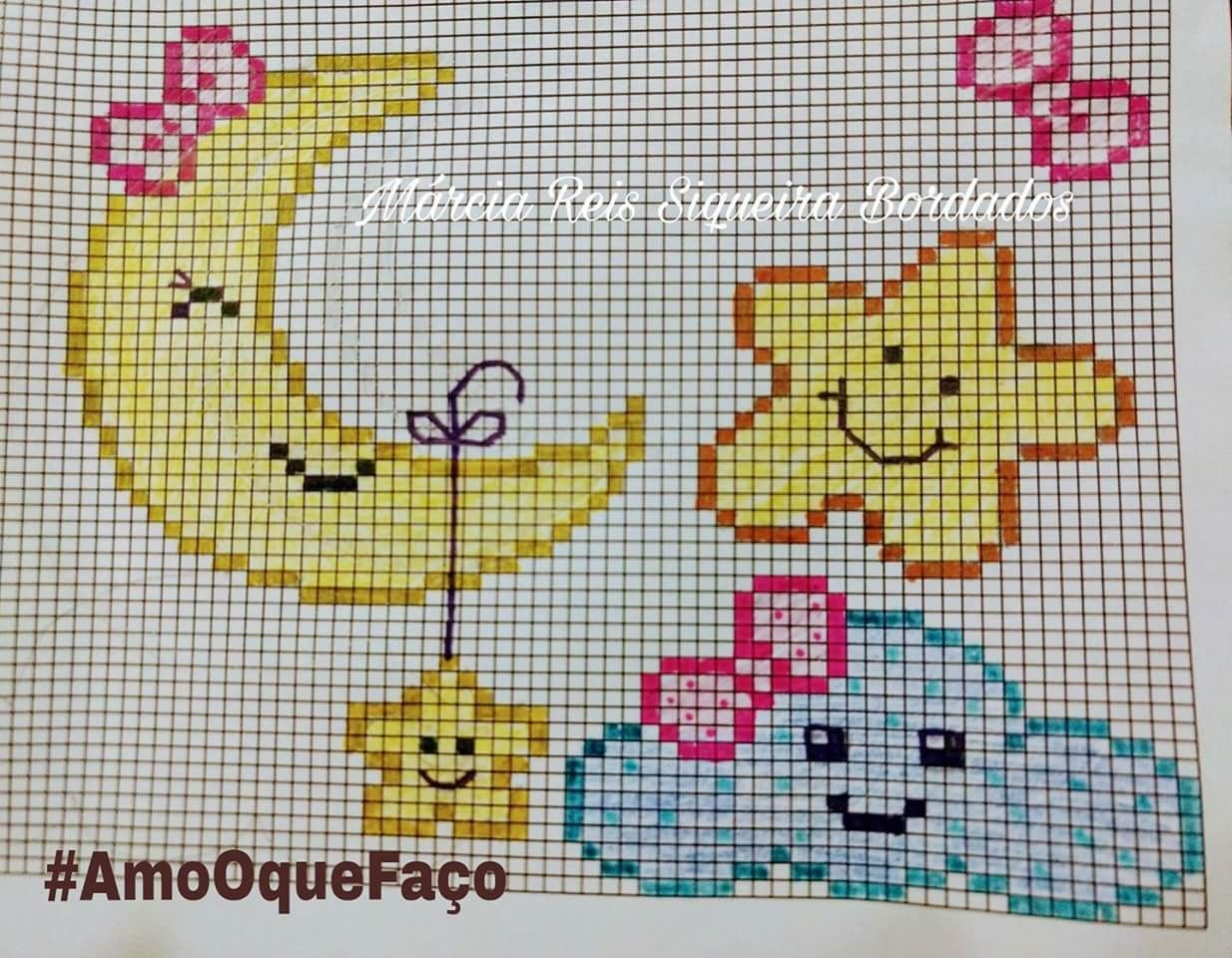 Baby Cross Stitch Bordado Ponto Cruz Ponto Cruz Ponto Cruz