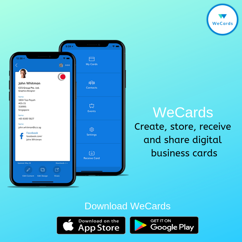 Do You Want To Make Friends Or Business Contacts But Don T Have A Business Card Download Wecards Digital Business Card Business Card App Electronic Business