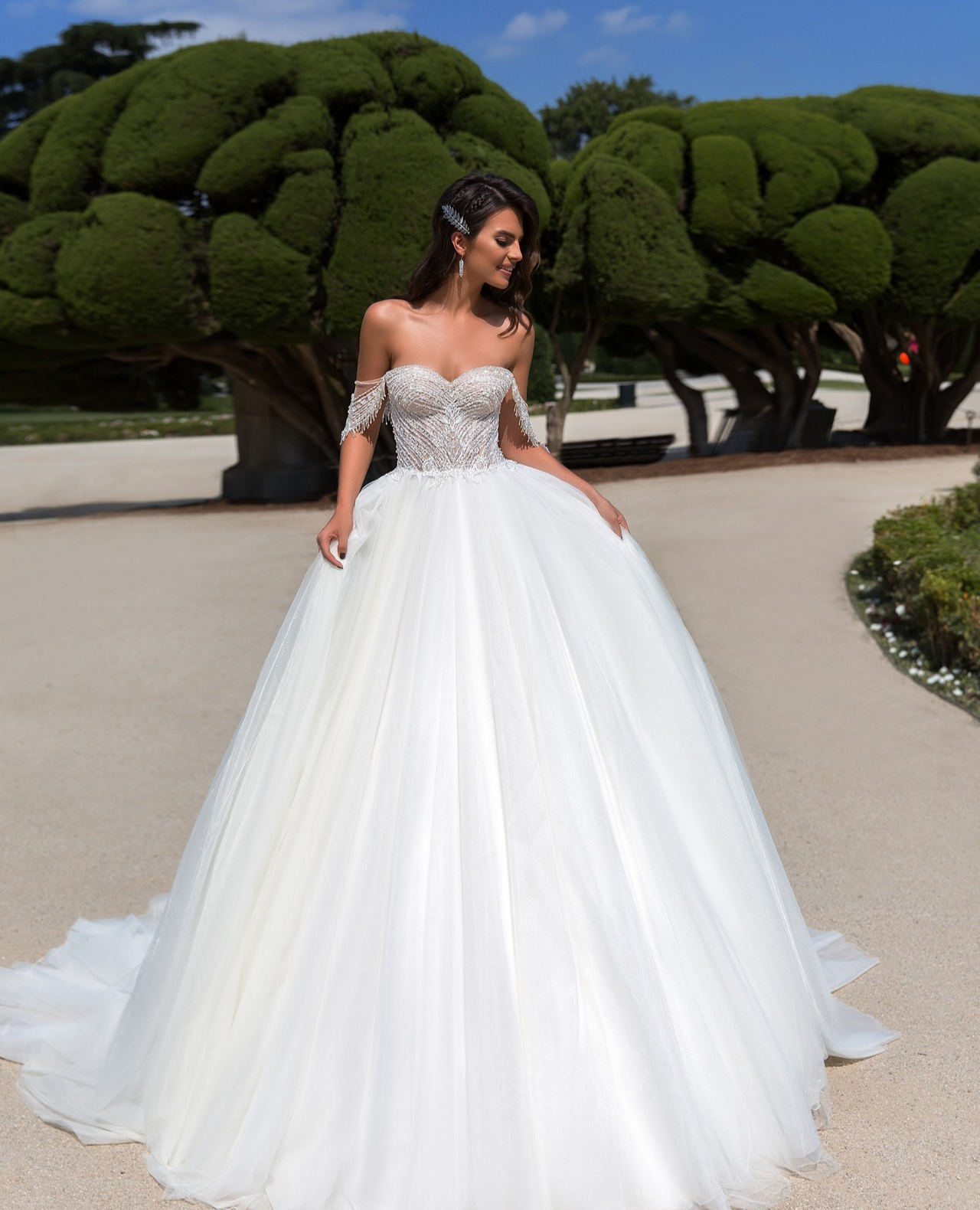 True Princess Gown From Vasylkov Ballgownweddingdress Princessweddingdress Straplessballgown Wedding Dresses Amazing Wedding Dress Wedding Dress Store [ 1580 x 1280 Pixel ]