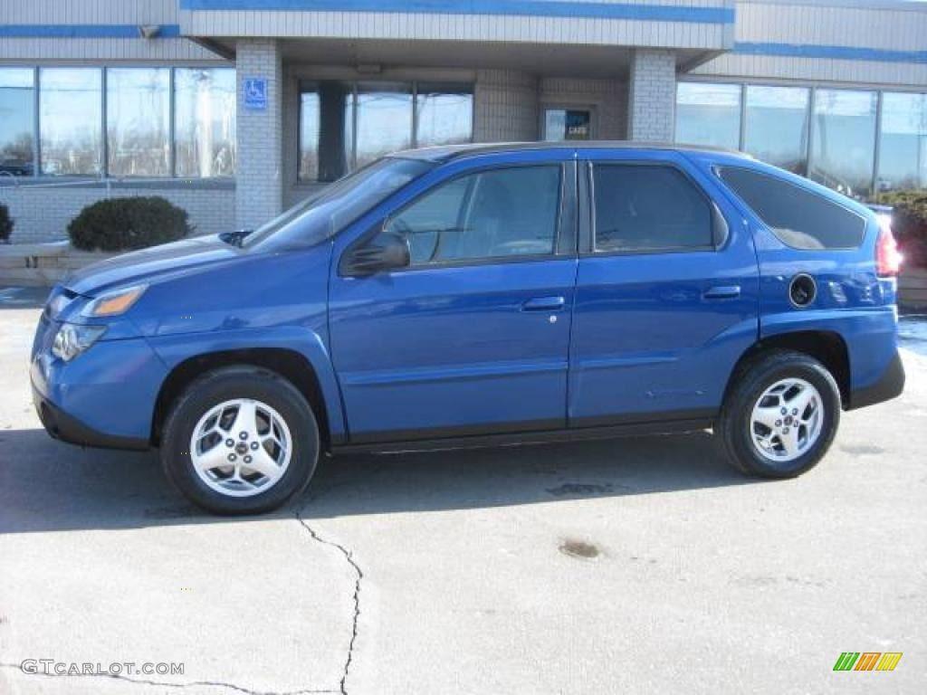Electric Blue Metallic Pontiac Aztek Pontiac Aztek Pontiac Car Colors