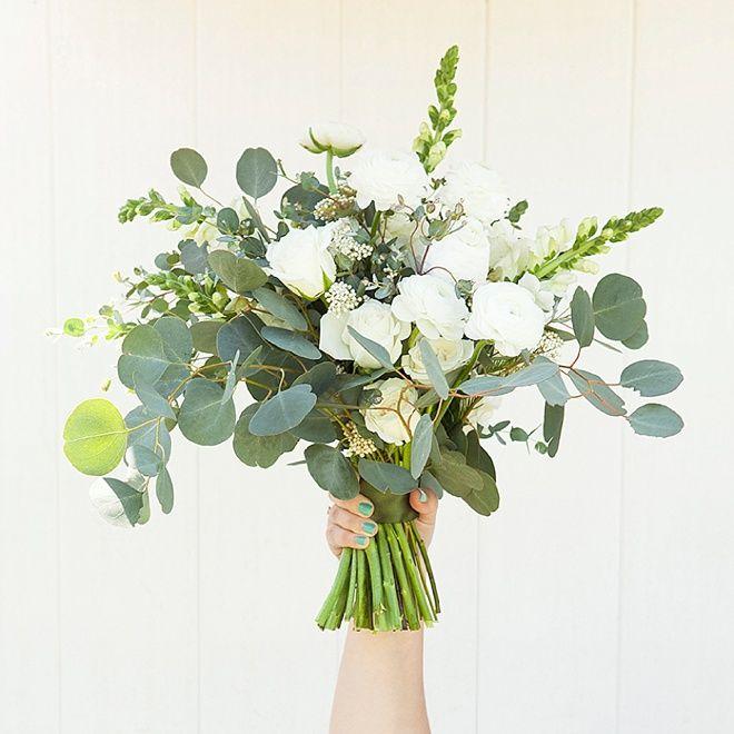 Wedding Altar Flowers With Eucalyptus: Wedding Flowers/Decor