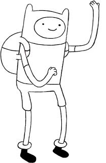 How To Draw Finn From Adventure Time Desenhos Faceis Desenhos A