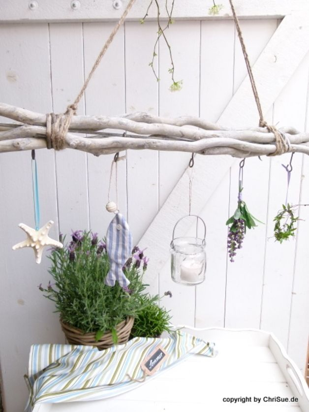 Deko objekte fensterdeko fan ein designerst ck von chrisue bei dawanda sommerdeko - Fensterdeko sommer ...